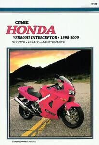 Clymer-Repair-Service-Manual-for-Honda-VFR800-1998-1999-2000
