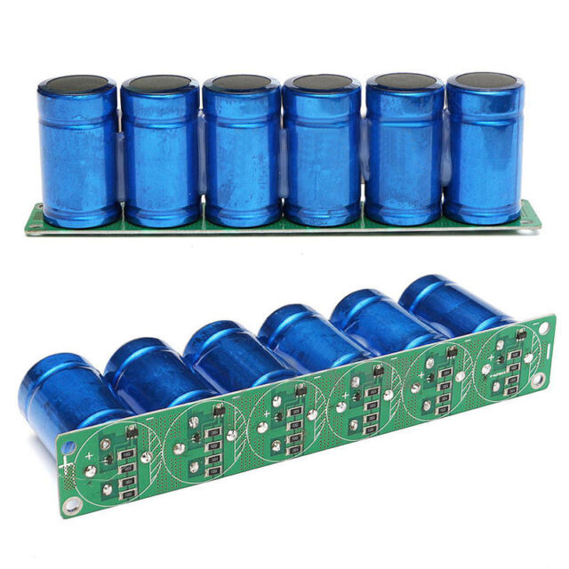 6pcs Farad Capacitor 2.7V 500F 35*60MM Super Capacitor With Protection Board