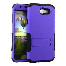 for Samsung Galaxy J7 Emerge   2017   V  - Hybrid Silicone Cover Case - Color