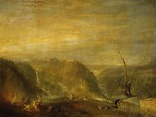 JOSEPH MALLORD WILLIAM TURNER BRITISH RAPE PROSERPINE ART PRINT POSTER BB5974A