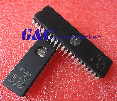 5PCS M27C1024-10F1 27C1024- ST IC EPROM UV 1MBIT 100NS 40CDIP NEW Quality D52