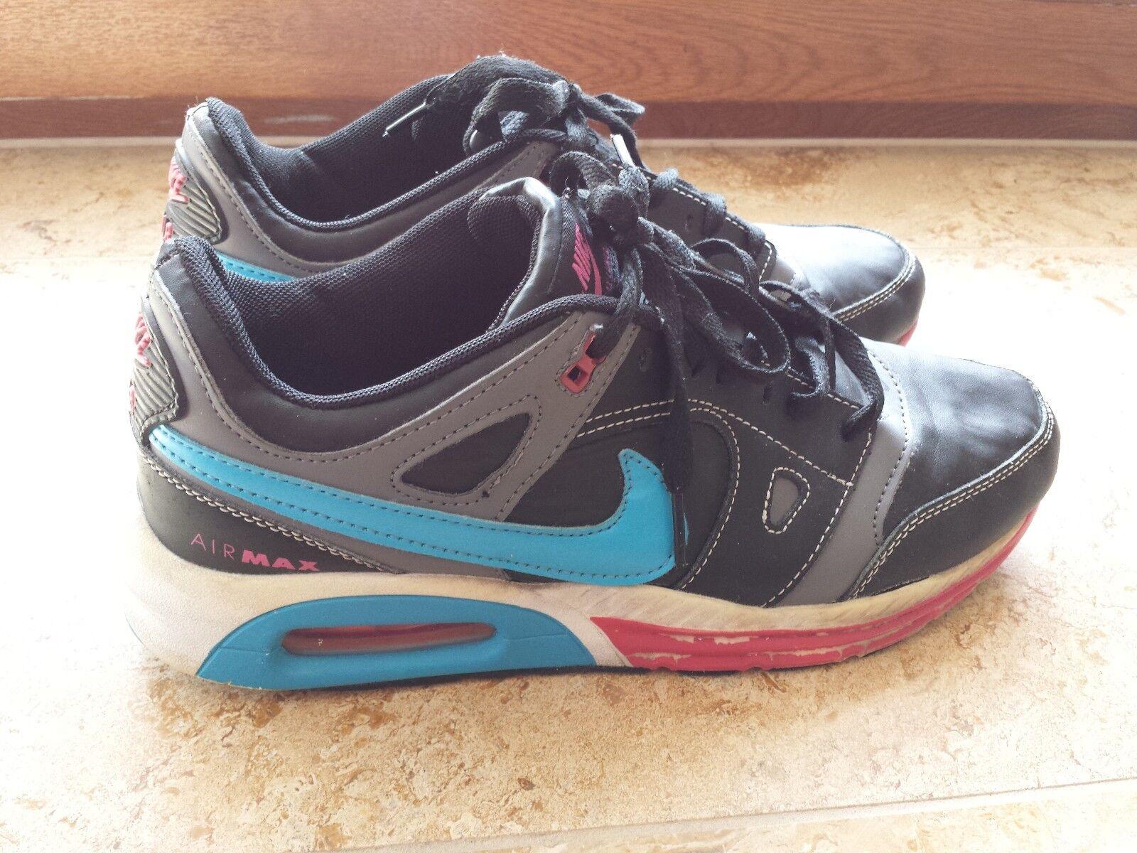 Nike Air Max Lunar Gr.45 US 11 UK 10 schwarz Turnschuhe Turnschuhe Sportschuhe