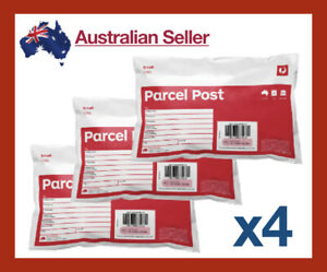4x-5kg-Parcel-Post-Regular-Satchel-Australia-Post-Prepaid-Tracking-Bulk-eBay