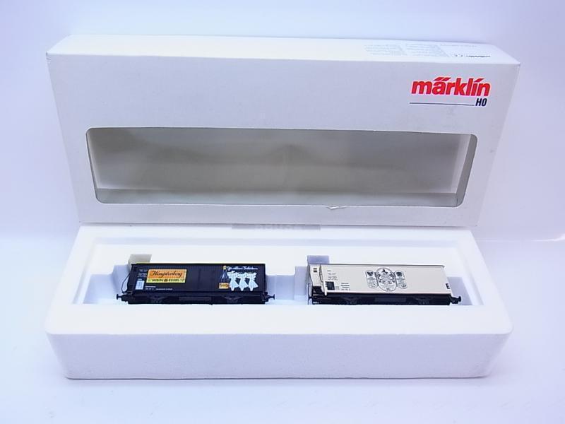 LOT 49716     Neuwertiges Märklin H0 31636 Wagen-Set Hengstenberg 2-tlg. in OVP 66d4f7