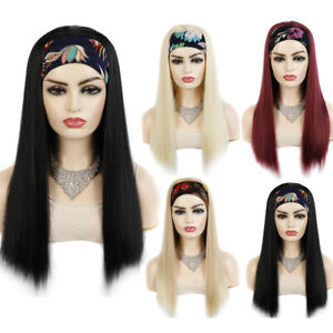 22-034-Long-Straight-Hair-Wrap-Wigs-for-Women-Ladies-Synthetic-Hair-Headband-Wigs
