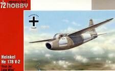SpecialHobby Heinkel He 178 V-2 1939 inkl. Ätzteile 1:72 Modell-Bausatz kit