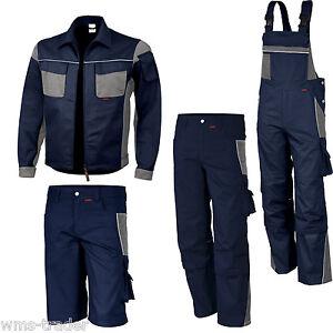 salopette de travail pantalon veste courts m trages v tement bleu marine ebay. Black Bedroom Furniture Sets. Home Design Ideas