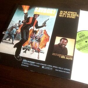 Don-Julian-SAVAGE-OST-Soundtrack-Vinyl-LP-Blaxploitation-Funk-Money-Soul