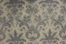 GP & J Baker curtain/upholstery fabric design Lorenzo aqua/cream 6 x 1 metres
