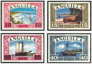 Timbres-Bateaux-Anguilla-16-9-lot-24505