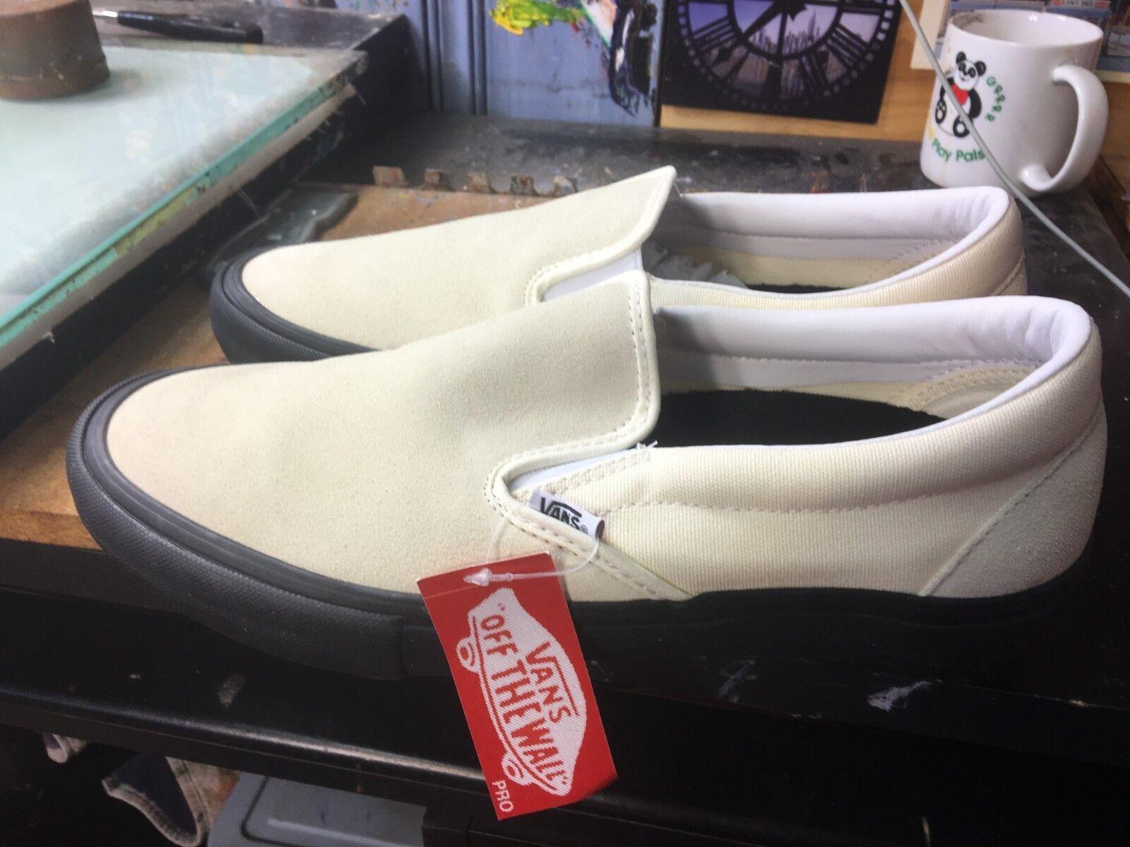 Vans Slip-On PRO Classic White Black Size US 11 Men's VN00097MU20