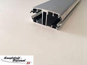 verlegeprofil premium aluminium f r 16 mm stegplatten inkl zubeh r schrauben ebay. Black Bedroom Furniture Sets. Home Design Ideas