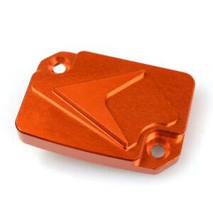 Motorcycle-Orange-Front-Brake-Fluid-Reservoir-Cover-Cap-For-KTM-DUKE-125-200-390