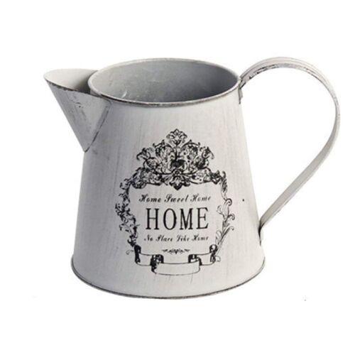 Antique French Style Country Rustic Primitive Jug Vase Pitcher Flower Vase fW4C1