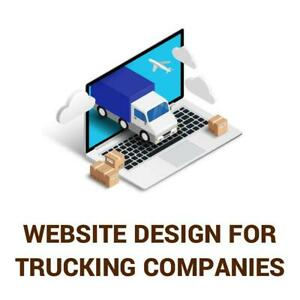 Website For Trucking Companies Canada Preview
