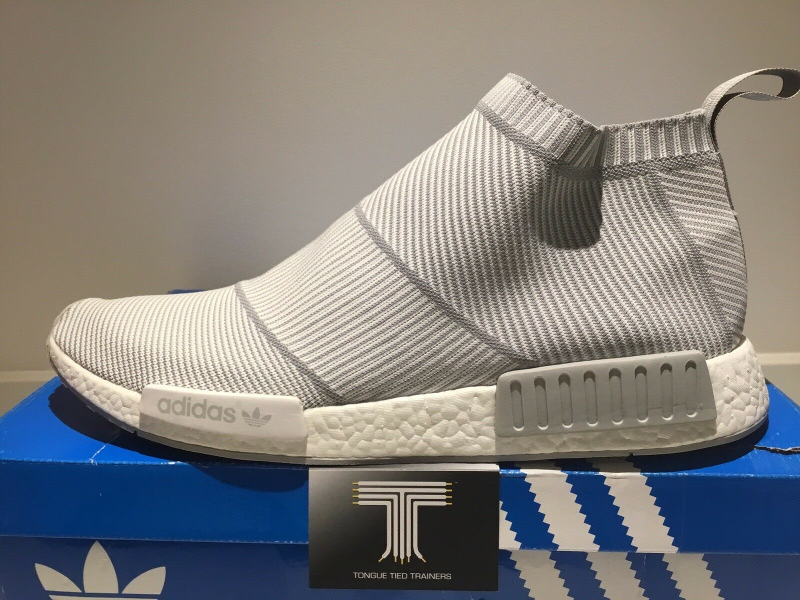 Adidas NMD CS1 PK City Sock Primeknit Uk Größe 18 Service