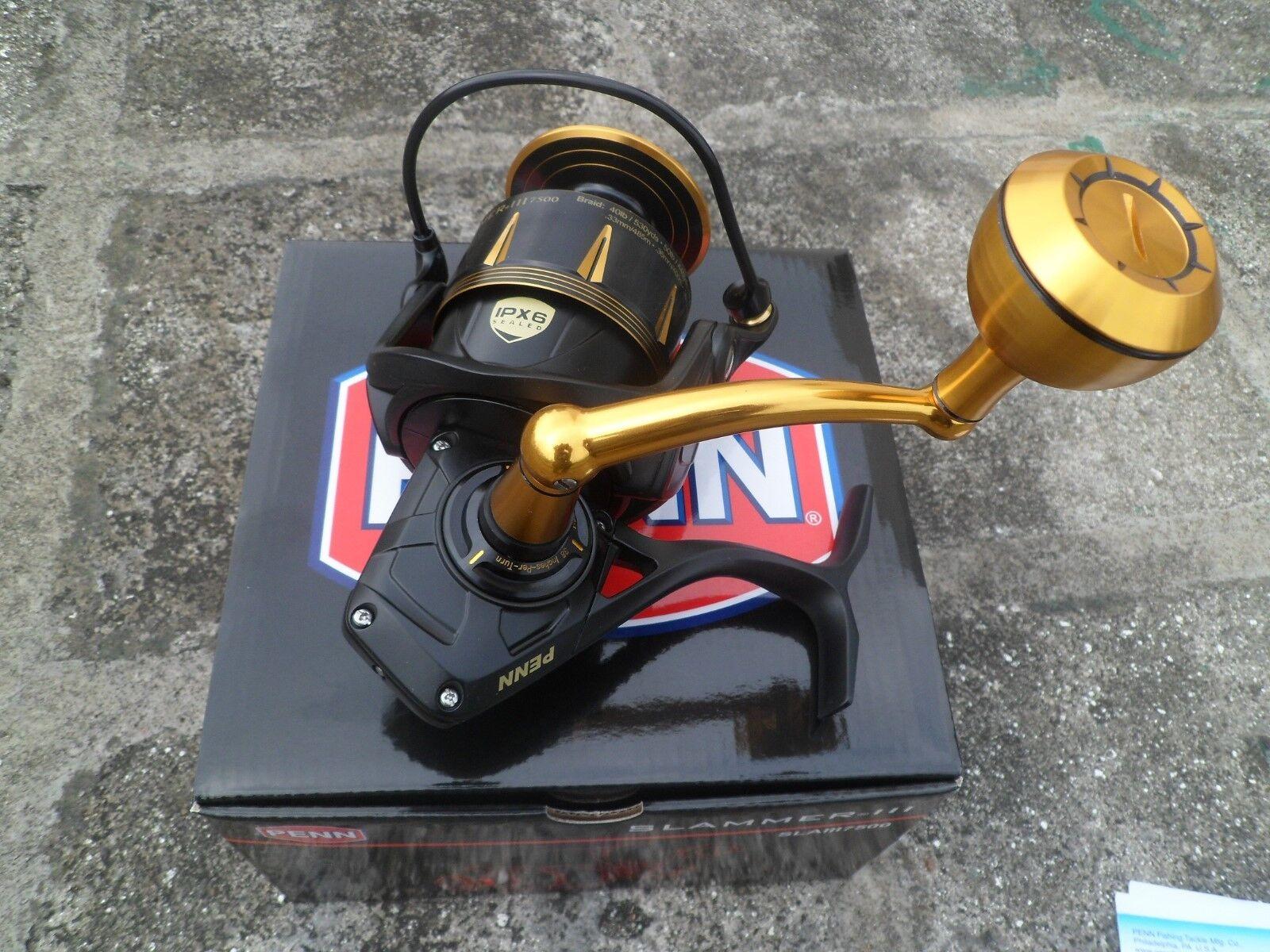 NEW 2017 PENN SLAMMER III Spinning Fishing Reel  6500 SLAIII 6500  we offer various famous brand