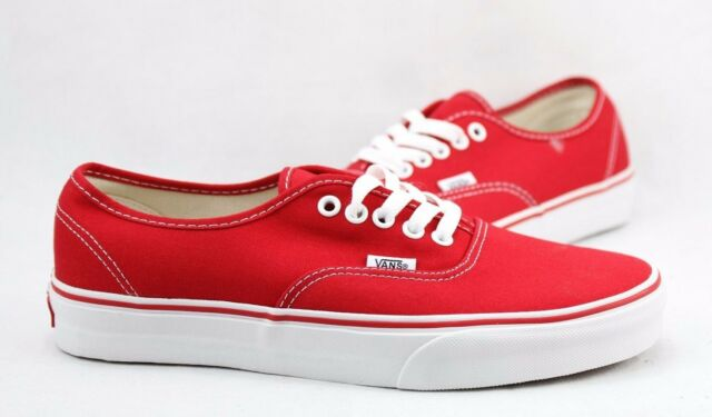 a3451a8d88 VANS Unisex Authentic Shoes Vn0ee3red Red 11 for sale online