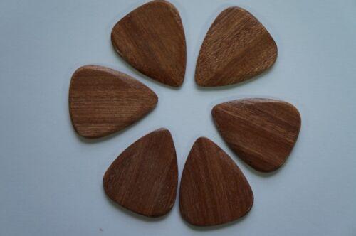 Almond Wood Single Pick Timber Tones Luxury Wood Guitar Pick