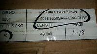 Simplex 4098-9856 Sampling Tube 49, Plastic (+100 In Stock)