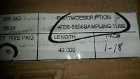 Simplex 4098-9856 Sampling Tube 49, Plastic (+100 In Stock)