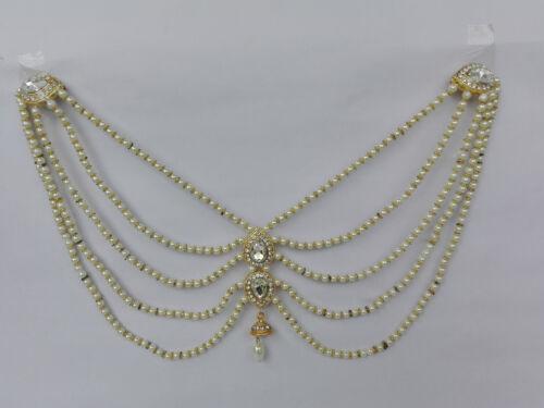 Ethnique Collier pendentif Fashion Indian plaqué or Femmes Dos Ouvert Bijoux
