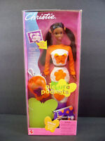 Barbie Doll 2000 Picture Pockets Christie Black Aa African American