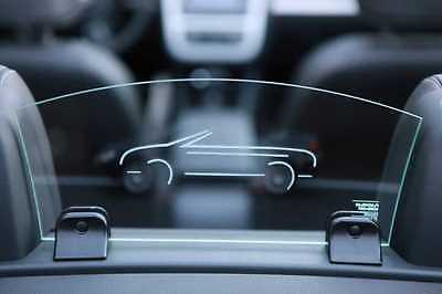 VW EOS Windschott für das Fahren zu Viert Schollen Windschott