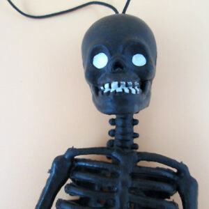 Details about Chic Halloween Little Human Skeleton Trick Toys Hang  Realistic Kids Fun Funny