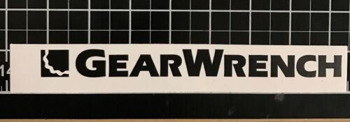 Gearwrench Logo Decal Autocollant Clé à cliquet Mac Snap on Matco Cornwell