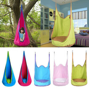 Garden-amp-Patio-Furniture-Hanging-Hammock-Chair-Swing-Seat-Toy-Summer-Outdoor-Fun
