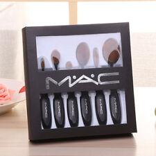 Mac makeup brush Toothbrush shape set 6pcs