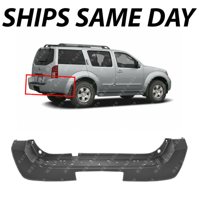 Primered - Rear Bumper Cover Replacement for 2005-2007 Nissan Pathfinder