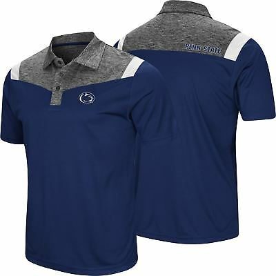 Colosseum NCAA Mens Penn State Nittany Lions Smithers Polo Shirt