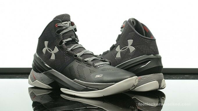 UNDER ARMOUR CURRY TWO THE PROFESSIONAL STEALTH SHOES  size 9.5 1259007-003