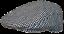 Mens-Tweed-Country-Flat-Cap-Peaked-Outdoors-Check-or-Herringbone-Racing-Hat miniatuur 19