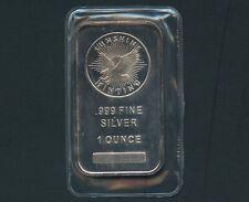 Lot of 2-10 Troy oz Sunshine Mint .999 Fine Silver Bar Mint Mark SI Sealed