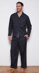 Nero Pajama Cyberjammies 50 'max' Men's By Paisley Stampa Set Rrp w1XWSqR