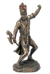 9-Inch-Statue-Orisha-Chango-Yoruba-Santeria-Estatua-Lucumi-Shango-African-God