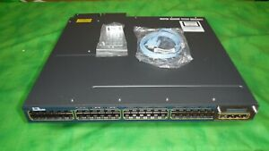 Cisco-Catalyst-WS-C3560X-48-PF-L-48-Port-PoE-10-100-1000-FE-2-X-1100W-AC-SP