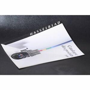 Hasselblad 1989 Produktkatalog in Französisch - Prospekt / Français