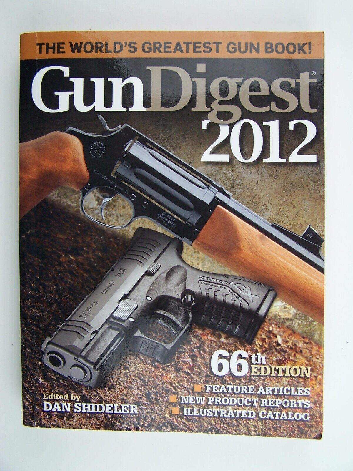 Gun Digest 2012 by Dan Shideler Paperback 9781440214479
