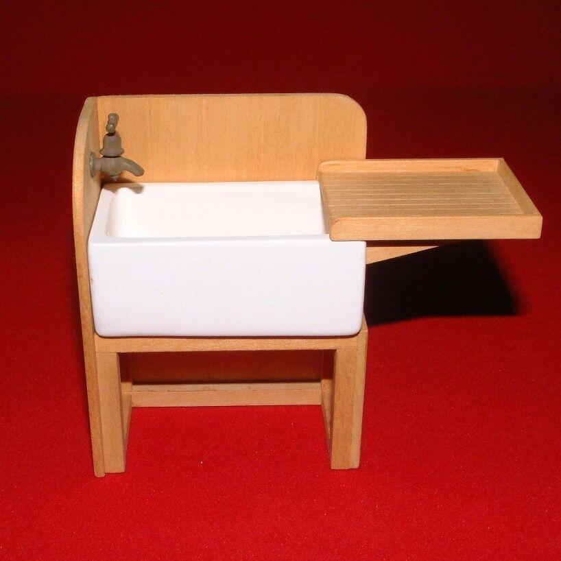 Kitchen Sink  Casa de muñecas en miniatura  1 12 Scale