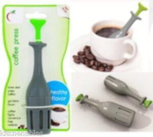 Jokari Healthy Steps Single Serve One Cup Style French Coffee Press