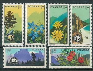 Poland stamps MNH (Mi. 2370-75) Mountain guide organisation (single) - Bystra Slaska, Polska - Poland stamps MNH (Mi. 2370-75) Mountain guide organisation (single) - Bystra Slaska, Polska