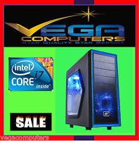 Intel Quad Core I7-7700 - 4.2 Ghz Gaming Desktop, 950w, Nvidia Gtx1050, 16gb Ram