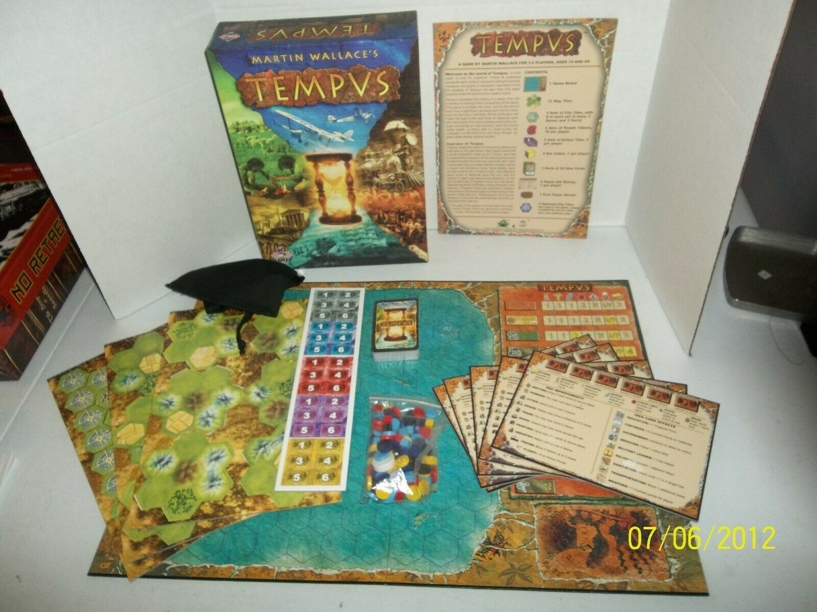 Cafe Games Tempvs Board Game  S34