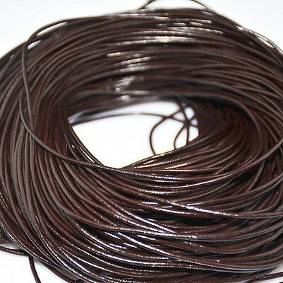Genuine Leather Cord Thread Fit Bracelet Necklace DIY Jewelry Making