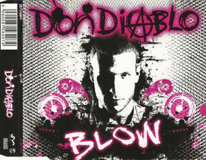 Don-Diablo-Maxi-CD-Blow-England-EX-VG