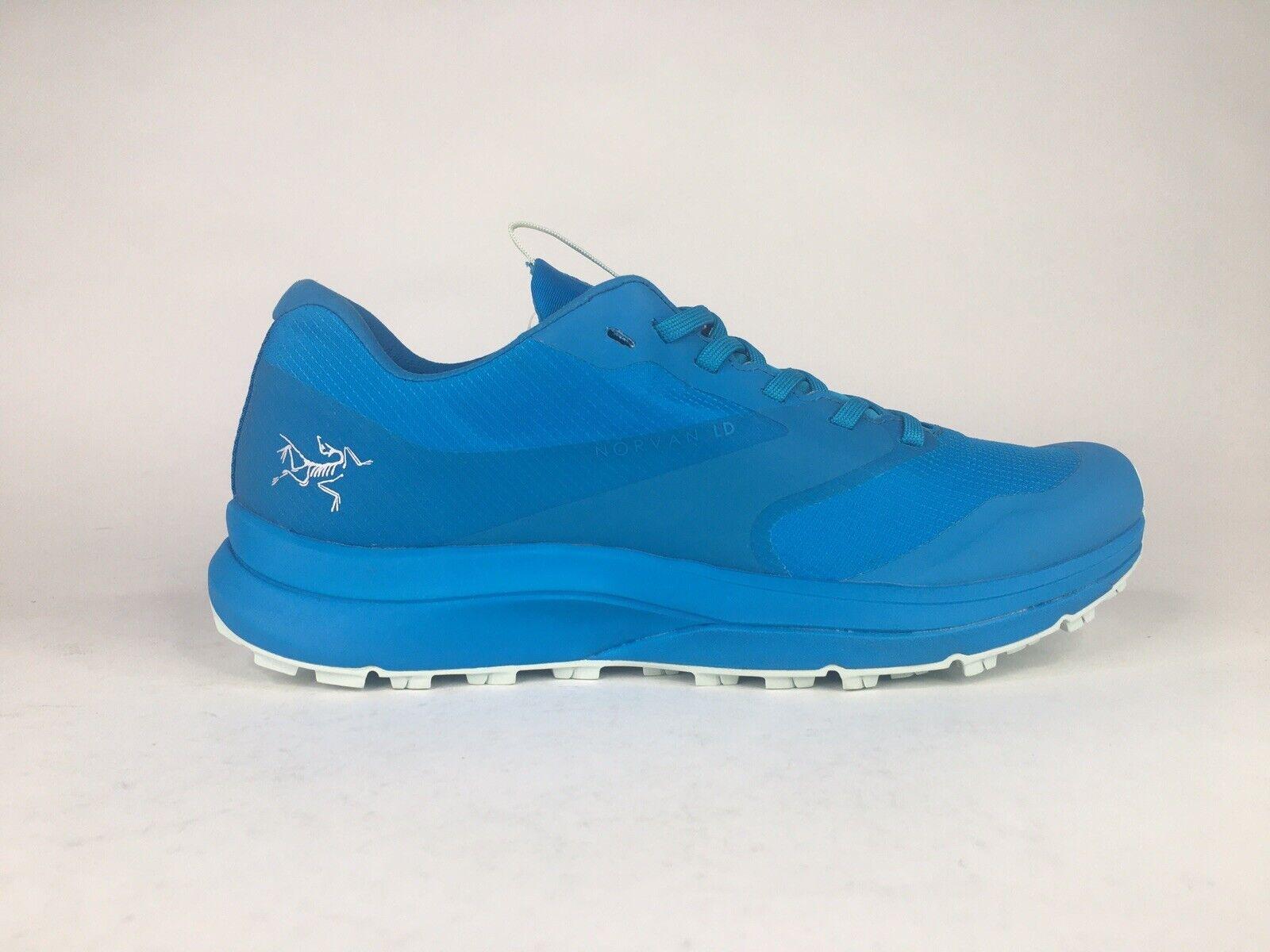 Arc 'teryx Femme Norvan LD GTX Sz 7 Bleu Imperméable Gore-Tex Trail Chaussures De Randonnée